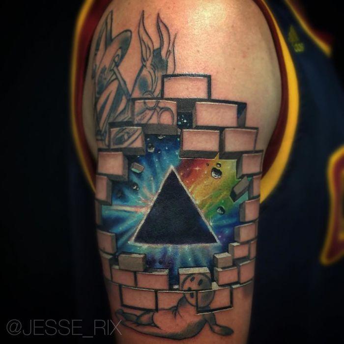 3D-татуировки, от вида которых по-настоящему захватывает дух